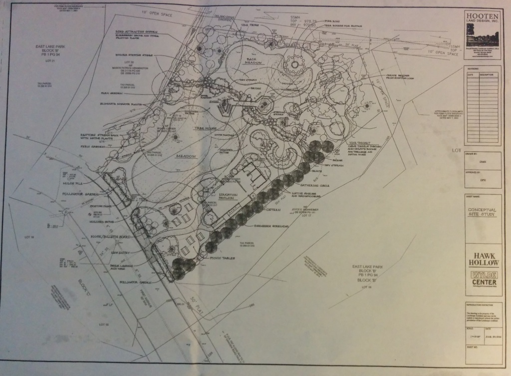 This drawing, provided by the Wylde Center, shows the center's plans for Hawk Hallow in Kirkwood. (Click to enlarge.)