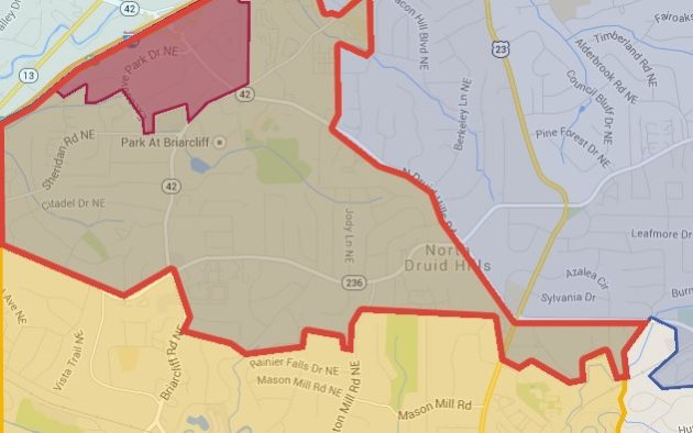 DeKalb County: Mapping the battleground | Decaturish - Locally ... on