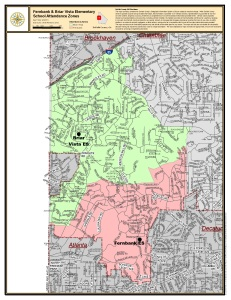 Annexation map proposed by Together in Atlanta. (Click to enlarge.)