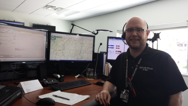Beacon Municipal Center - Decatur 911 dispatcher Jeremy Pickett