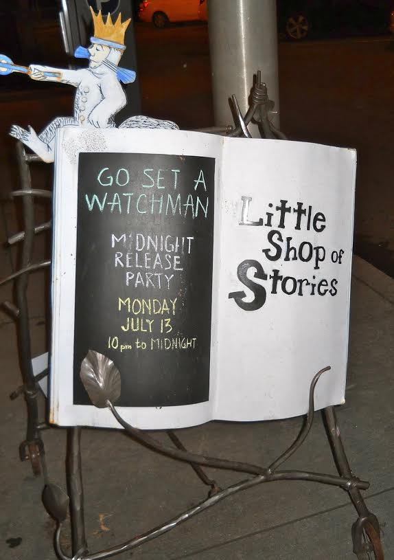 "The ""Go Set a Watchman"" midnight release party at Decatur's Little Shop of Stories. Photo provided by Lindsay Pingel with Little Shop of Stories."